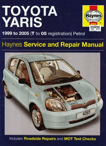 toyota-yaris-petrol-service-and-repair-manual-1999-to-2005