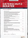 Datenschutz Berater 9 2016 Maßnahmen effizient auditieren Zeitschrift Magazin Einzelheft Heft Datenschutzbeauftragte Datensicherheit