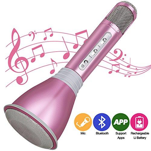 Micrófono Inalámbrico Portátil Bluetooth 3.0 Altavoz segunda mano  Se entrega en toda España