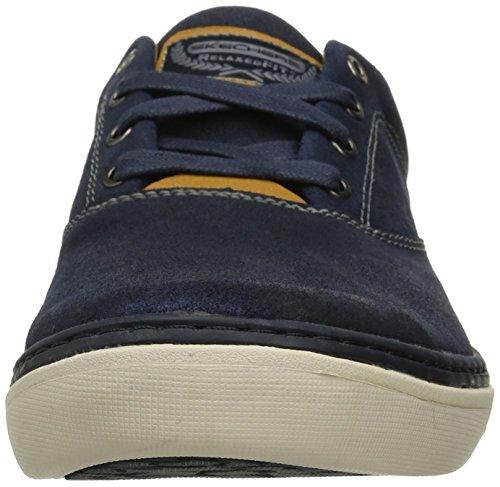 Skechers Herren Palen Alesco Sneaker Blau - Bleu (Nvy Marine)