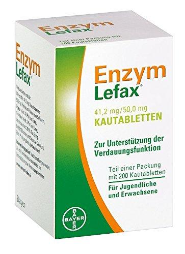 Enzym Lefax Kautabletten, 200 St