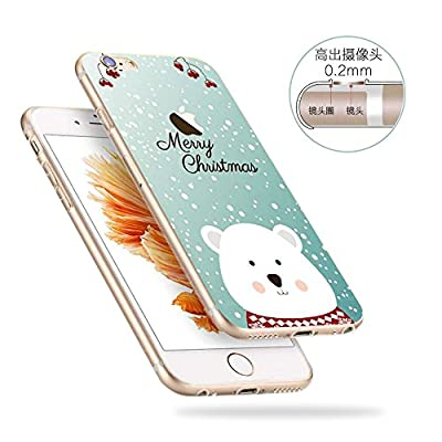 iPhone 6 6S Hülle Tasche, MYZ Guard [Klar Crystal] Ultra Dünn Transparent Soft-Flex Handyhülle / Bumper-Style Premium-TPU Silikon / Perfekte Passform / Durchsichtige Schutzhülle für iPhone 6 Case, iPhone 6S Cover - Crystal Clear