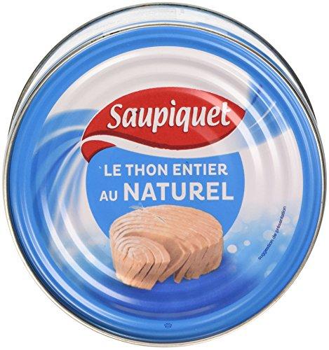 Saupiquet Thon entier au naturel 400 g