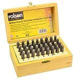 Rolson 26127 - Accesorio para pirograbado (36 piezas)