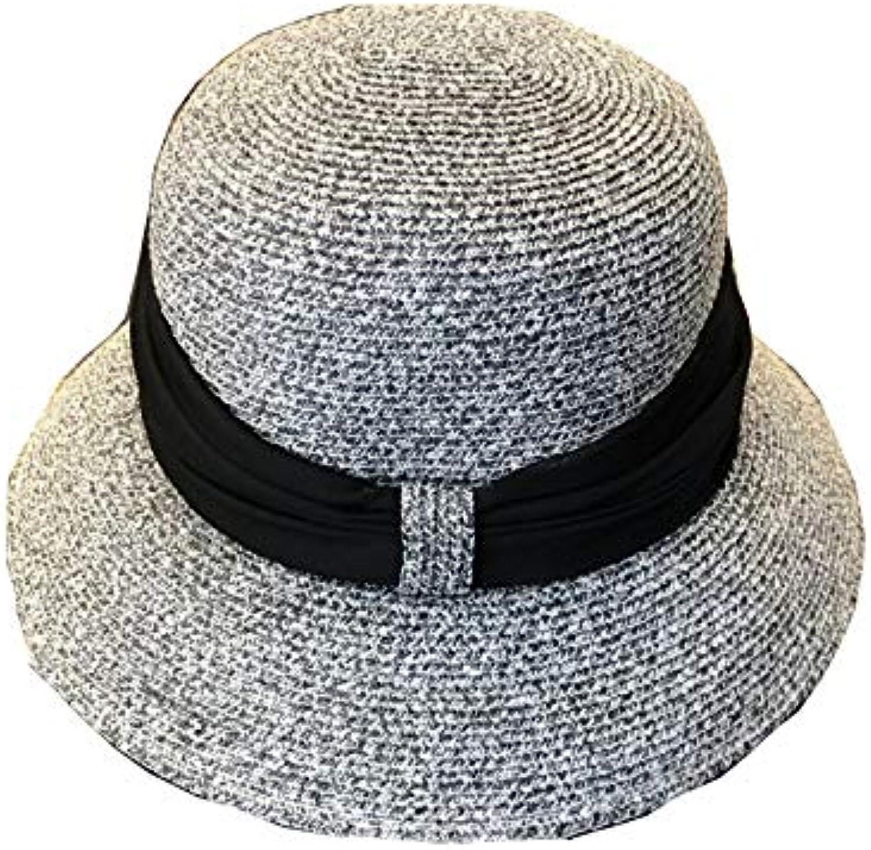 Mai Dou Cappello Estivo da Sole Donna Borsa Donna Morbida da Donna Borsa Cappello  Panama Cappello da Spiaggia Ampio Cappuccio... Parent 303b49 5af72af927d4