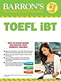Barrons TOEFL iBT with MP3 audio CDs 15th Edition by Pamela J. Sharpe Ph.D. (2016-08-15)