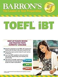 Barron's TOEFL iBT with MP3 audio CDs 15th Edition by Pamela J. Sharpe Ph.D. (2016-08-15)