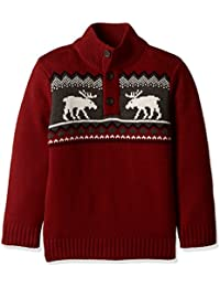 The Children's Place Baby Boys' Knitwear (20709061027_Classic Red_2 Toddlers)