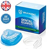 4 X BRUXADENT Dental Mouth Guards for Teeth Grinding in 2 Sizes |