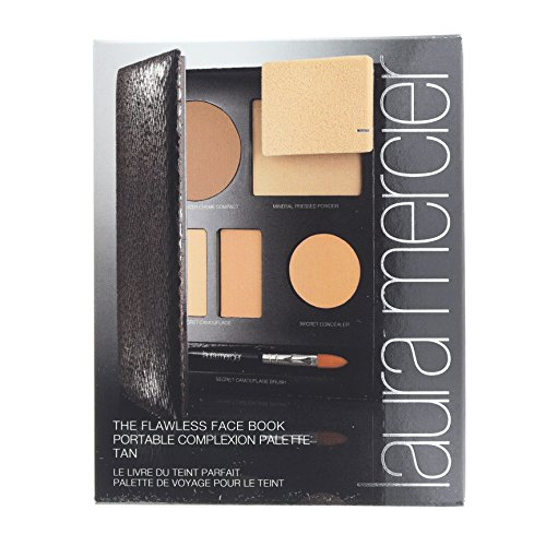 the-flawless-face-book-tan-1x-creme-compact-1x-pressed-powder-w-sponge-1x-secret-camouflage-5pcs