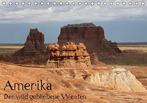 Amerika - Der wild gebliebene Westen (Tischkalender 2020 DIN A5 quer): Landschaftsaufnahmen aus dem Herzen des Cowboy-Lands (Monatskalender, 14 Seiten ) (CALVENDO Natur)