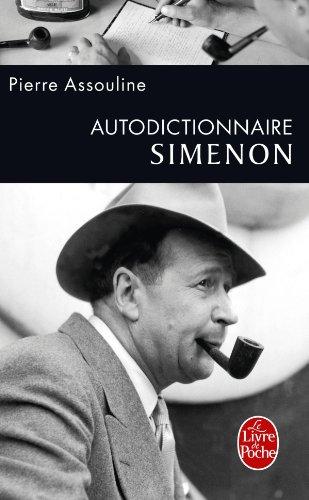 Autodictionnaire Simenon par Pierre Assouline