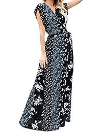 462741dc187 Amazon.fr   Maxi robe - Robes   Femme   Vêtements