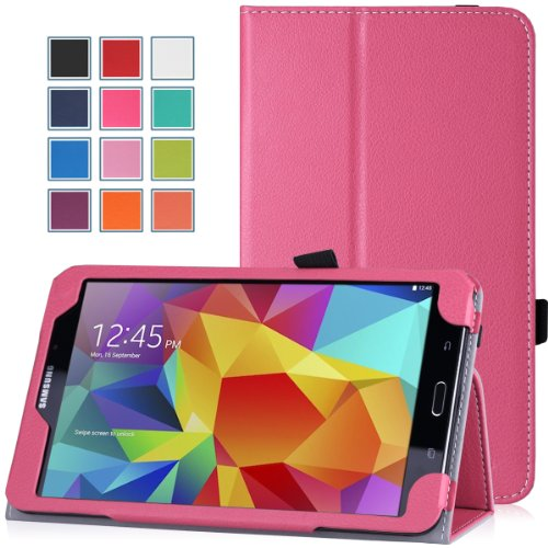"Moko Étui à rabat mince pour Samsung Galaxy Tab 3 7.0/8.0 et 10.1, Galaxy Note 8"" édition 2014, Tab 3 Lite, Tab Pro 8.4, Tab Pro 10.1, Note Pro 12.2 et Tab 4 8.0/10.1"