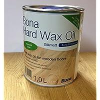 Bona mate aceite para encerado de seda 1L aceite para suelos de madera