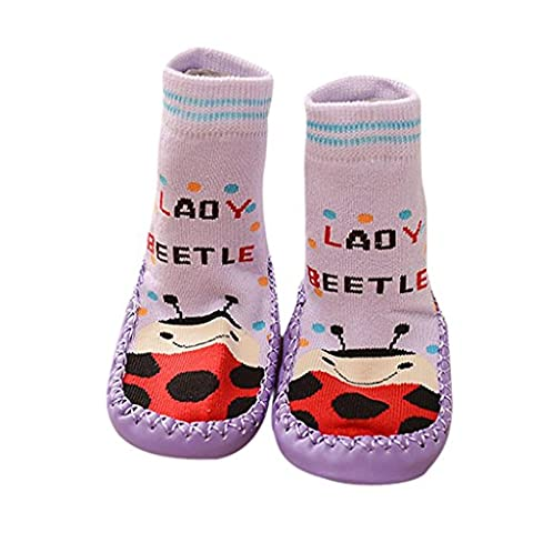 New Soft Cartoon Kids Toddler Anti-slip Shoes Boots Slipper Socks by FEITONG