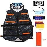 Best Present For 9 Yr Old Girls - Kids Tactical Vest Kit for Nerf Guns N-Strike Review