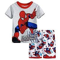 2 Piece Kids Spider-Man Superhero Pajamas Set Boy
