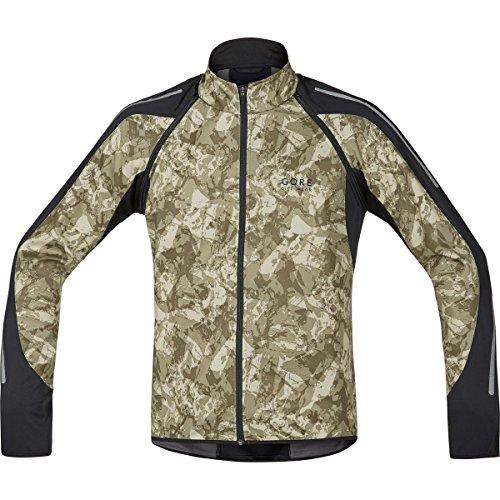 Gore Bike Wear Phantom Print 2.0 Windstopper Soft Shell - Chaqueta para hombre, color camouflage, talla M