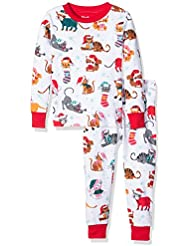 Hatley Pj (Aop) -Holiday Cats, Pijama Para Niños
