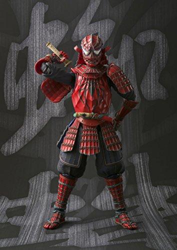 BANDAI MEISHO Manga Realization Samurai Spider Man Action Figure 7