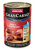 Animonda GranCarno Hundefutter Original Junior Rind + Putenherzen