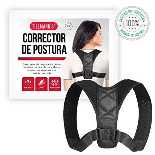 Foto de Tillmann's® Corrector Postura Espalda Mujer Y Hombre - Para Corregir Postura Hombros Y Espalda, De Uso Diario No Invasivo