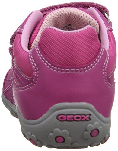 Geox Better, Baskets Basses fille Rose - Rose fuchsia