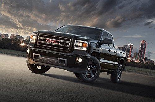 classic-car-muscle-e-pubblicita-e-car-art-gmc-sierra-elevation-edizione-2014-camion-art-stampa-su-ca