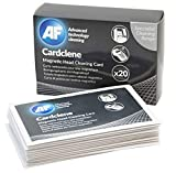 AF Cardclene Reinigungskarte mit Isopropanol für Magnetkarten-Durchzugleser in Folienbeuteln 20 Stück