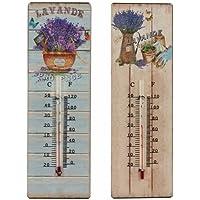 Termometro da parete LAVANDA (1 unità a scelta), 25 cm - Vasca Idromassaggio Termometro