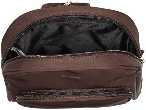 Picard Damen Tiptop Rucksackhandtaschen, 28x31x5 cm Braun (Cafe)