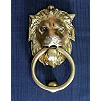 StonKraft Brass Lion Door Knocker Knockers Gate Knocker Door Accessories