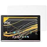 atFolix Schutzfolie für Acer Iconia One 10 (B3-A50) Displayschutzfolie - 2 x FX-Antireflex blendfreie Folie