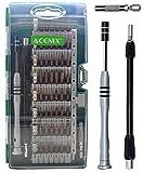 ACENIX Universal Reparaturset 60in 1[Aktualisiert S2Version] Präzisions-Schraubendreher-Set, magnetischer Home Tool Kit für Haushalt, iPhone, iPad, Tablet, PC und andere Haushaltsgeräte