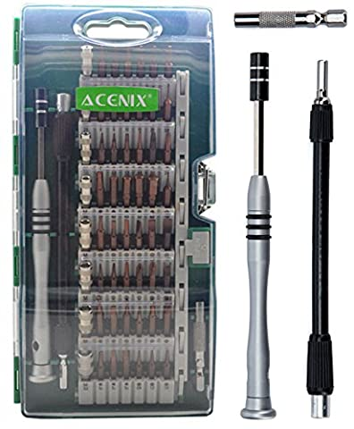ACENIX® 60 in 1 [Updated S2 Version ] Precision Screwdriver Set, Magnetic Screwdriver Home Tool Kit for Household, iPhone, iPad, Tablet, PC and Other Home Appliances