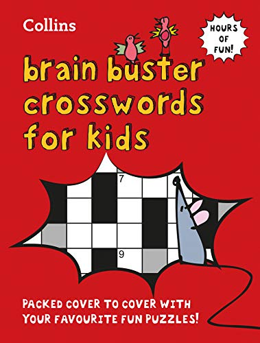 Collins Brain Buster Crosswords for Kids por Collins Puzzles