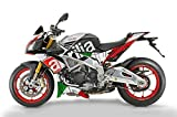 Aprilia Tuono V4 1100 Factory italienische Flagge Bauch und Seitenwand Grafik Satz