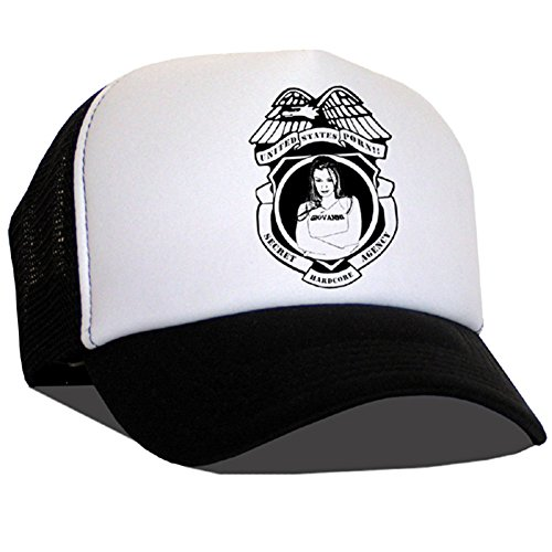 Raphia type Secret Hardcore Agency Casquette en maille