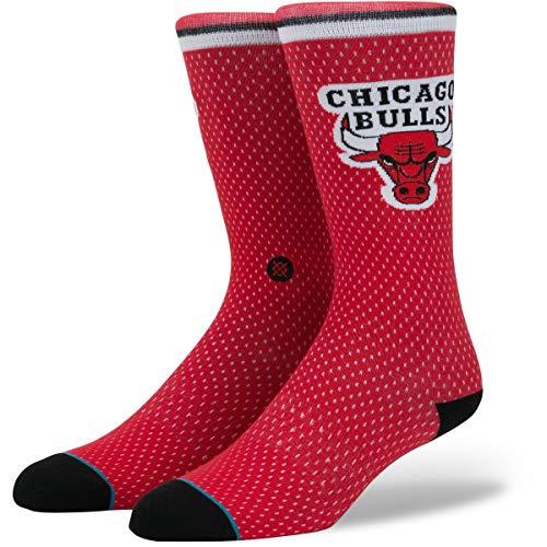 Stance NBA Arena Warriors Crew Socke, Rot, 42-46