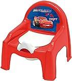 2in1 Kindersitz mit Töpfchen AUSWAHL: Mickey o. Minnie Maus Babyklo Babytöpfchen Toilette Toilettensitz (Cars)
