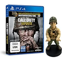 Call of Duty: WWII - Standard Edition - [PlayStation 4] + WWII Officer Muddy Guy Figur (exkl. bei Amazon.de)
