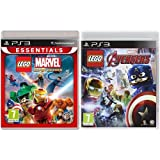 Essentials Lego Marvel Superheroes + Lego Avengers