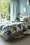 "Catherine Lansfield ""Sleep"" Set housse de couette 1 personne Dino - multicolore"
