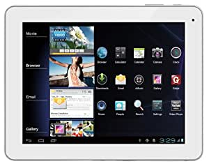 """Polaroid MIDC901 Tablette Tactile 9 """" Android Blanc"""