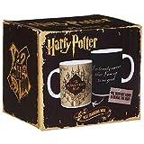 Harry Potter mugs Marauders Map Heat Changing Color Coffee Mugs by Morphing Mug …