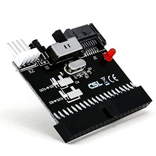 CSL-Computer Adaptador/Conversor IDE SATA + SATA IDE