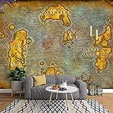 Papier peint personnalisé 3d mural européenne ancienne carte en ligne jeu World of Warcraft carte fond d'écran papier peint de parede350 * 245cm