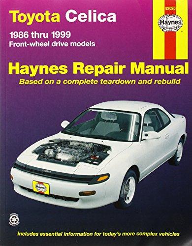 Toyota Celica Front Wheel Drive, 1986-1999 (Haynes Manuals) (Toyota Celica 1990)