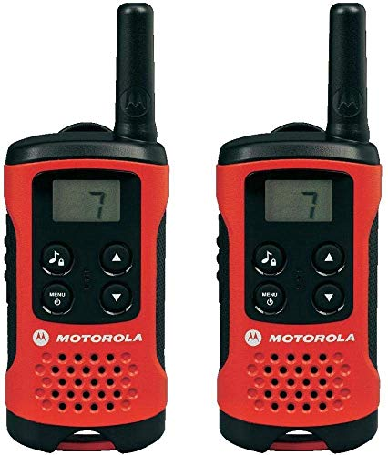 Motorola TLKR T40 PMR Funkgerät mit LC-Display rot